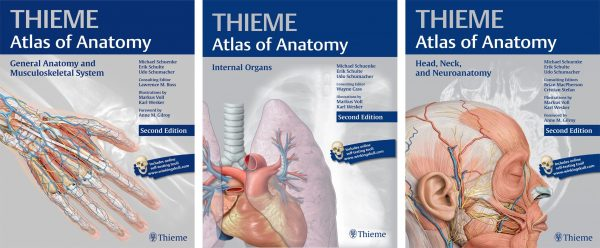 اطلس آناتومی thieme سه جلدی (thieme atlas of anatomy)