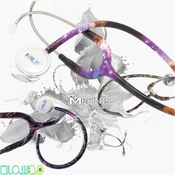 limited edition printed stethoscope for traditional md one stethoscope 5 600x600 - گوشی پزشکی MDF مدل 777