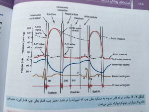 حوادث چرخه قلبی ( فیزیولوژی پزشکی گایتون جلد اول )