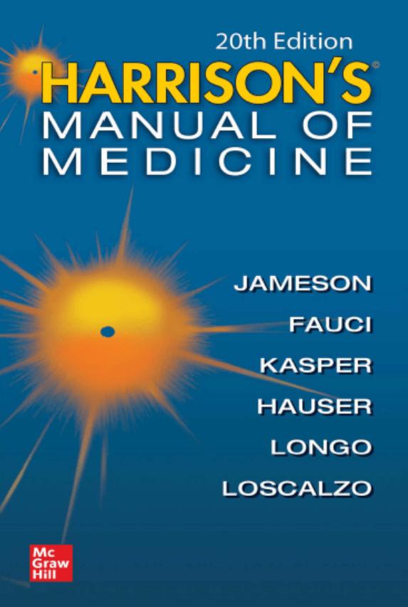 دانلود pdf دستنامه طب داخلی هاریسون