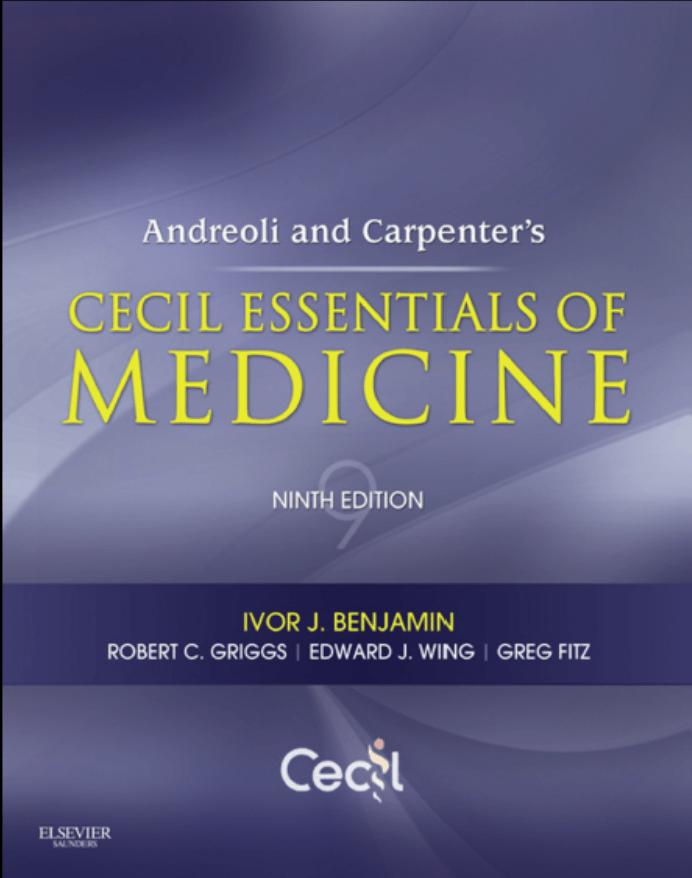 دانلود pdf مبانی طب داخلی سیسیل