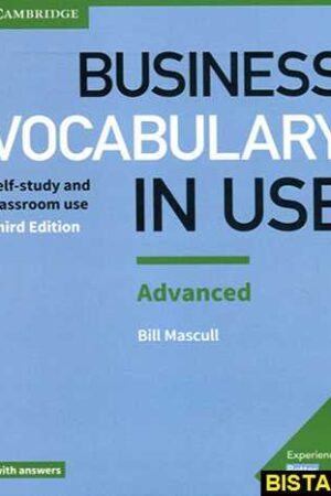 "کتاب ""Vocabulary in Use Business Advanced ""3rd"