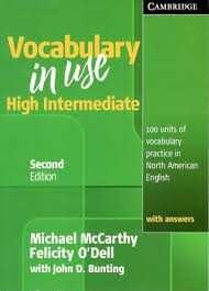 کتابVocabulary in Use High Intermediate