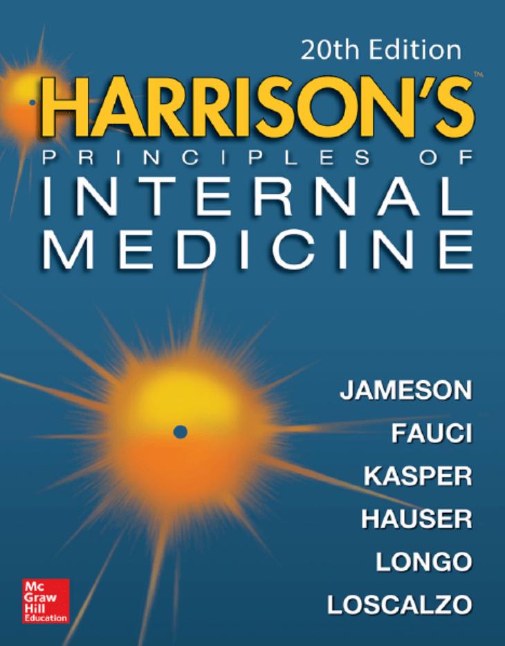 دانلود pdf اصول طب داخلی هاریسون