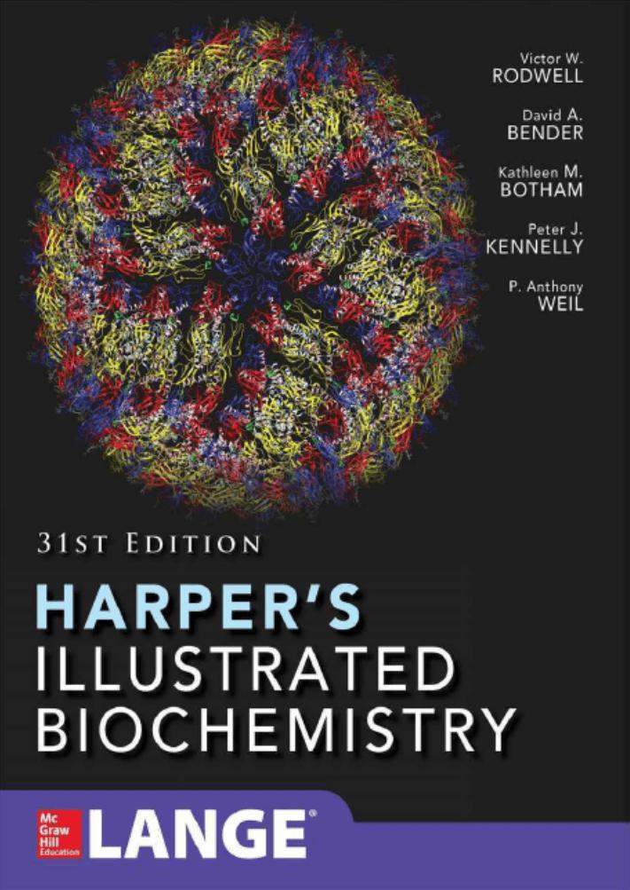 دانلود pdf بیوشیمی مصور هارپر